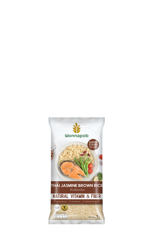 Thai Jasmine Brown Rice 1 kg