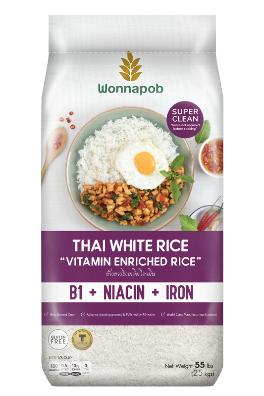Thai White Rice 25 kg