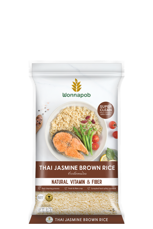 Thai Jasmine Brown Rice 5 kg